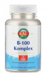 Vitamin-Complex B 100, v. A., 120 Tabletten