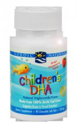 Children´s DHA Omega-3 für Kinder, 90 Kapseln