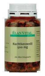 Nachtkerzenöl 500 mg, 180 Weichkapseln