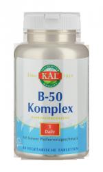 Vitamin-Complex B 50, 50 Tabletten