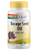 Borage Seed Oil, 240 mg, mit GLA, 50 Weichkapseln