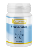 L-Histidin 500 mg, 60 VegiCaps